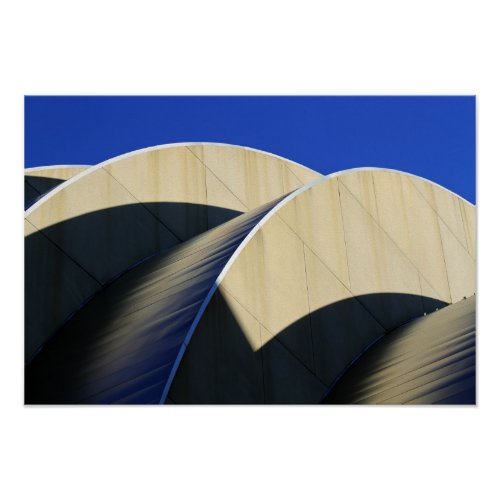Kauffman Center Curves and Shadows Poster