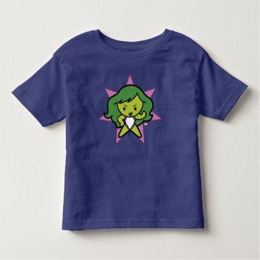 Kawaii She-Hulk Flex Toddler T-shirt