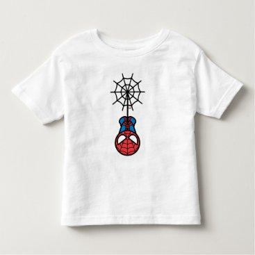 Kawaii Spider-Man Hanging Upside Down Toddler T-shirt