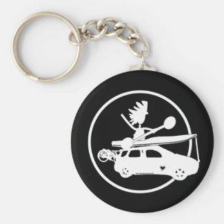 Kayak Bike Car - Zoom Gifts Keychain