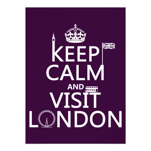 Keep Calm and Visit London image