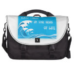 Keep Calm In The Seas Of Life commuterbag