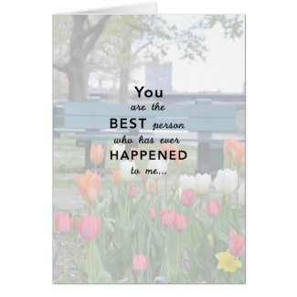 Keep Happening Love Card