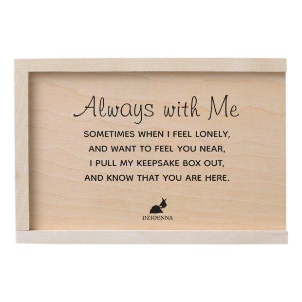 Keepsake Box Always with Me