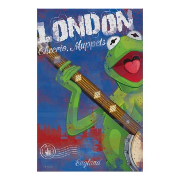Kermit - London, England Poster