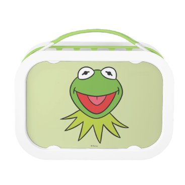 Kermit the Frog Cartoon Head Lunch Box