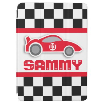 Kids racing car sports personalized ipad cover