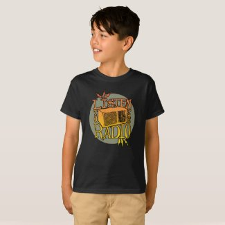 Kids' Radio dark T-shirt