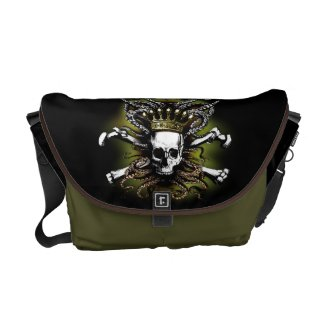 King Squid Skull Rickshaw Messenger Bag rickshaw_messengerbag