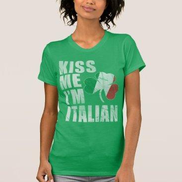 Kiss Me I'm Italian St Patrick's Day T-Shirt