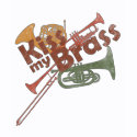 Band Geeks T-Shirts & Gifts - Kiss My Brass