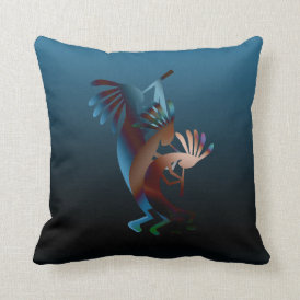 Kokopelli Gets Down  Pillow