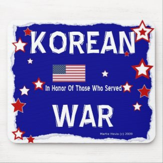 Korean War - In Honor - Mousepad