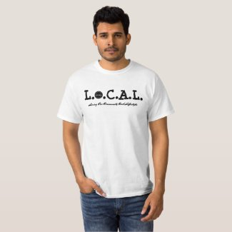 L.O.C.A.L Black and White T-shirt