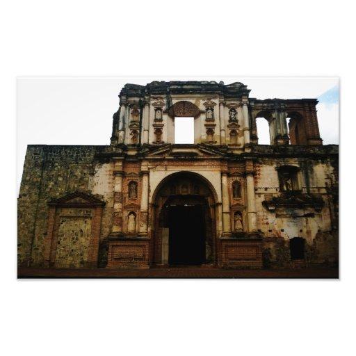 La Antigua, Guatemala ruins photograph