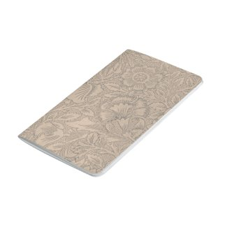 Lace Wallpaper Taupe Journal