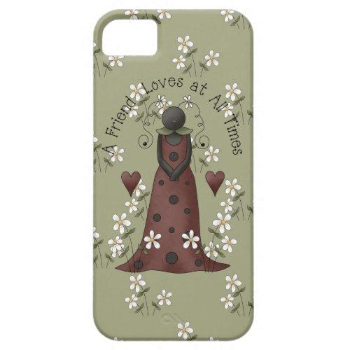Ladybug and Daisies Friendship iPhone5 iPhone SE/5/5s Case