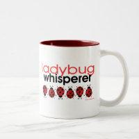Ladybug Whisperer Two-Tone Coffee Mug