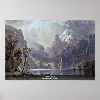 Lake Tahoe By Bierstadt Albert print
