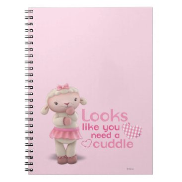 Lambie - Looks Like You Need a Cuddle Notebook