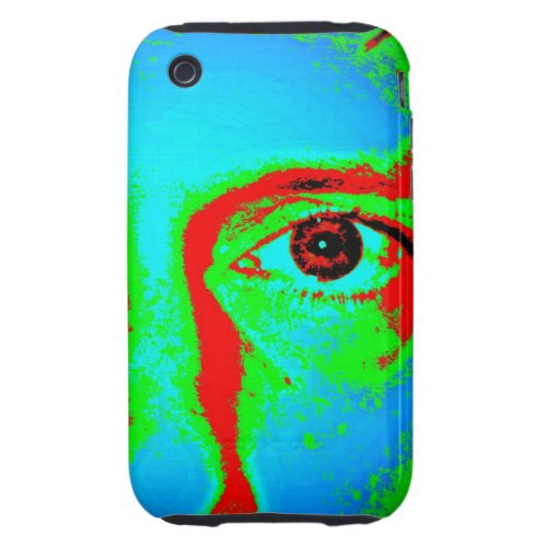 "Lament ""Apple iPhone hard Case"", ""photo of a man's face and eye"""