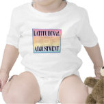 """Latitudinal Adjustment"" t-shirts"
