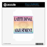 """Latitudinal Adjustment"" skins"