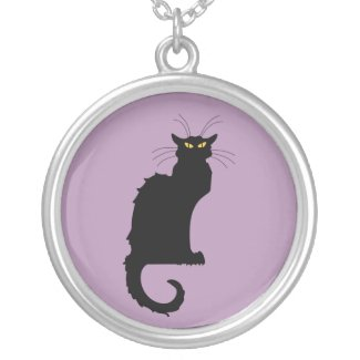 Le Chat Noir Pendant Necklace