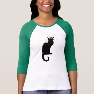 Le Chat Noir Black Cat Shirt