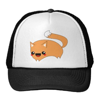 Leaping Kawaii Fox hat