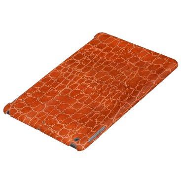 Leather design iPad air case