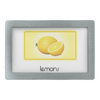 Lemons Belt Buckle