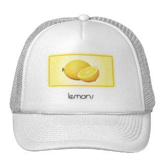 Lemons Mesh Hat