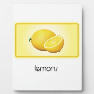 Lemons Plaques
