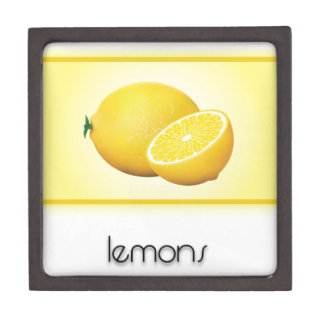 Lemons Premium Keepsake Box