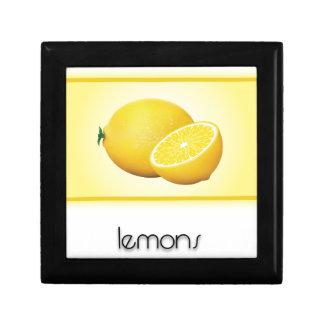 Lemons Trinket Boxes