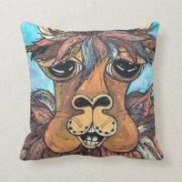 Leroy the Llama Pillow