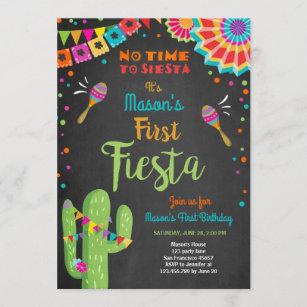 mexican birthday invitations zazzle