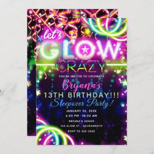 13th birthday invitations zazzle