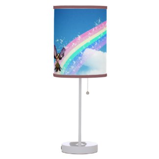 Let's Make a Rainbow Desk Lamp