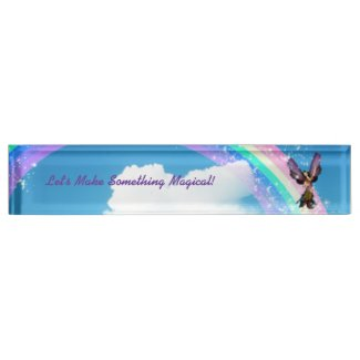 Let's Make a Rainbow Nameplate