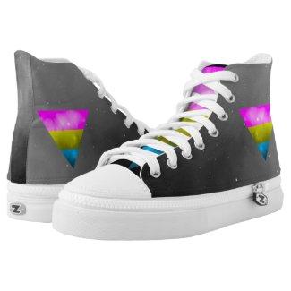 gay pride vibrant sneakers