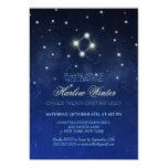 Libra Constellation Birthday Party Invitation