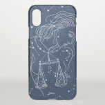 Libra zodiac sign iPhone x case