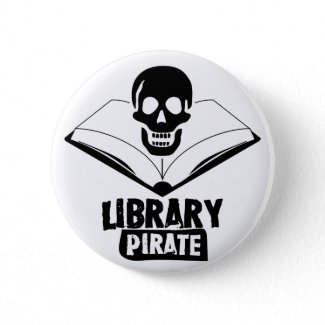 Library Pirate button