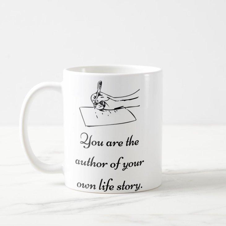 """Life story"" - Motivational Coffee Mug"