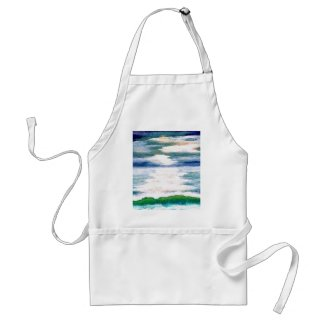 Light Dance on the Sea CricketDiane Ocean Art apron