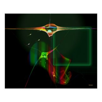 Light Ships At Zeta Reticuli Posters