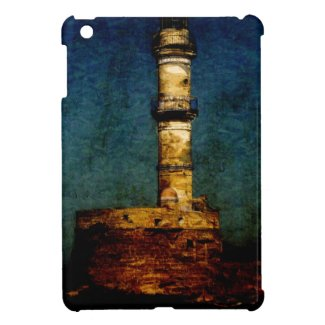 Lighthouse in Chania iPad Mini Cover