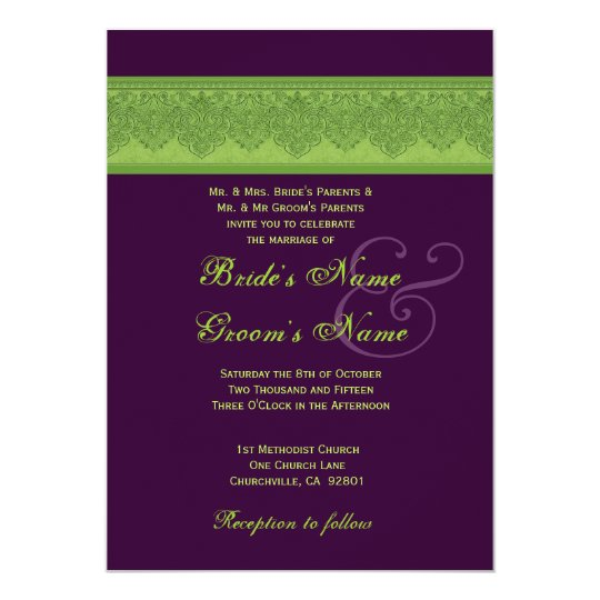 Plum Wedding Invitations As An Additional Inspiration For A Fantastic Invitation Design With Layout 2